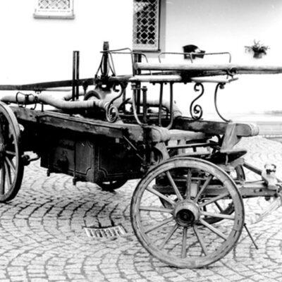 گاری آتش نشانی سال 1875