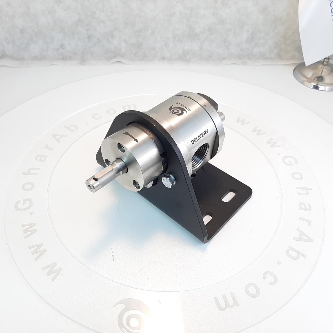 (3) پمپ دنده ای - غلیظ کش استیل گوهراب goharab مدل GA-SX100