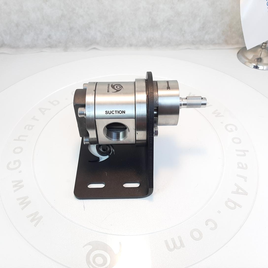 (4) پمپ دنده ای - غلیظ کش استیل گوهراب goharab مدل GA-SX100