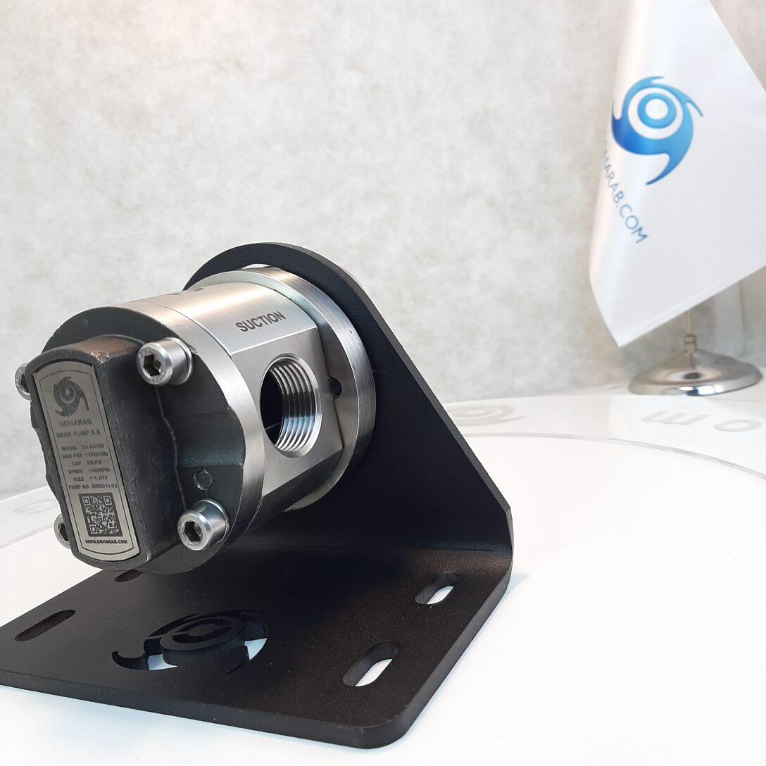 (1) پمپ دنده ای - غلیظ کش استیل گوهراب goharab مدل GA-SX100